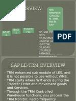 SAP LE-TRM PPT
