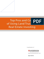 Pros and Cons of Land Trust