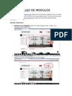 flujo de pagina web