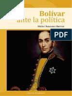 Bolívar Ante La Política