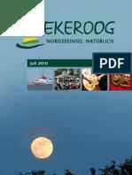 Veranstaltungsplaner Juli 2010 Spiekeroog