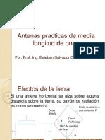 Antenas Media Longitud de Onda Practicas