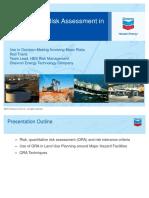 Quantitative Risk Assessment in Chevron