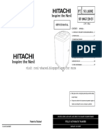 Hitachi Washing machine Top Loading