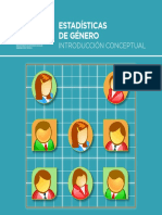 Estadísticas de Género, introducción conceptual