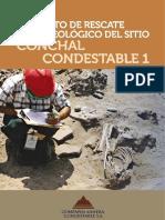 Proyecto de Rescate Arqueologico Conchal Condestable 1