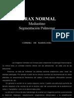 Diagnóstico Por Imagen II - Mediastino, Segmentación Pulmonar