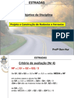 Aula 1_puc - Visao Geral Do Projeto de Estradas