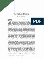 Huxley, The Medism of Caryae
