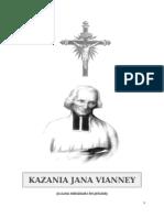 Sw Jan Vianney Kazania