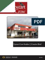 Upstart Crow - Creative Brief