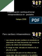 Reanimación Cardiopulmonar Intraanestésic Xalapa