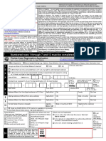 Voter's Registration Form