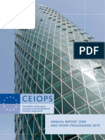 CEIOPS Annual Report 2009 and Work Programme 2010
