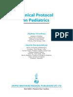 Clinical Protocol in Pediatrics, 2012