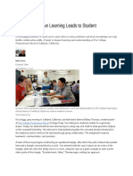 how collaborative learning leads to student success
