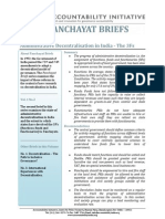 Panchayat Briefs Vol 1, No 2