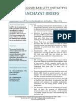 Panchayat Briefs Vol 1, No 2