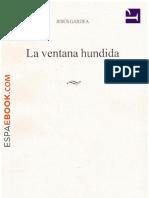 La Ventana Hundida - Jesus Gardea