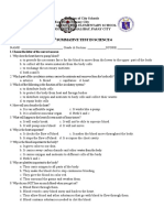 Summative Test No. 2 Science