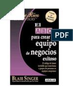 Resumen El ABC Para Crear Un Equipo de Negocios Exitoso