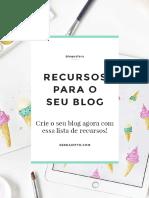 Recursos Para Seu Blog