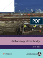 Miar Report 2012 - Archaeology at Cambridge