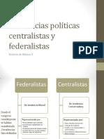63760233 Historia de Mexico 2 Tendencias Politicas Centralistas y Federalistas