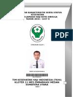 Profil Dan Karakteristik Jamaah Calon Haji Kota Sibolga Tahun 2016