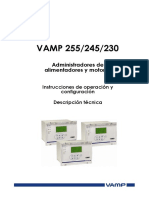 Manual de Usuario VAMP255 (VM255.ES023)