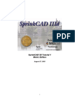 SprinkCAD 3D Tutorial