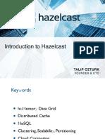 Introduction to Hazelcast