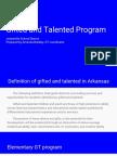 gt program overview