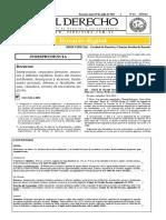 Diario El derecho Nº 63 - Julio 29-20133