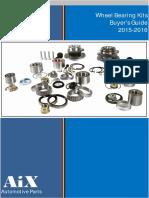 Wheel Bearing Kits Catalogue-Aixparts