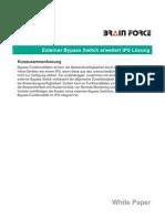 Whitepaper  - Externer Bypass erweitert IPS-Lösung