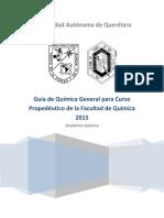 Guía Propedeutico Química 2015