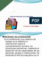 Labor Del Psicologo Educativo en El Peru- Conti