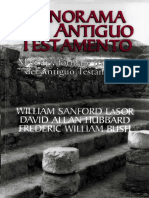 (Panorama Del Antiguo Testamento - William S Lasor