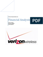 verizon financial analysis - final
