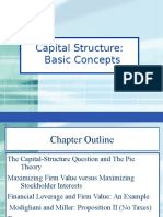 Basics of Capital Structure