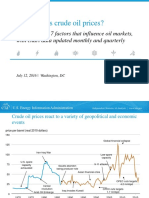 Eia What Drives Crude Oil Prices