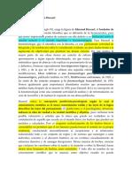 I. La Fenomenologia de Husserl