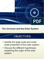 The Universe and the Solar System Part 2