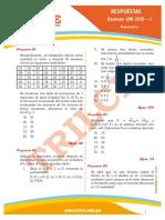 Respuestas Uni2015I Matematica