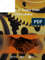Supply Chain Effectiveness
