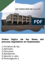 Proceso de Creación de La Ley