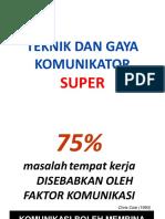 106 Teknik Dan Gaya Kom Super.