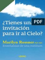 Tienes Una Invitacion Para Ir Al Cielo- Marilyn Rossner