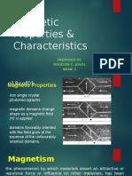 Magnetic Properties & Characteristics